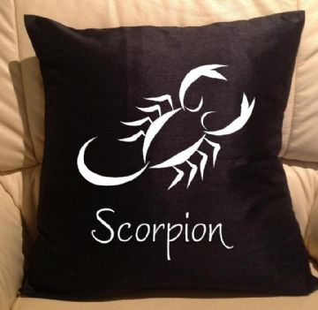 Horoscope - star sign Scorpion pillow, sofa cushions